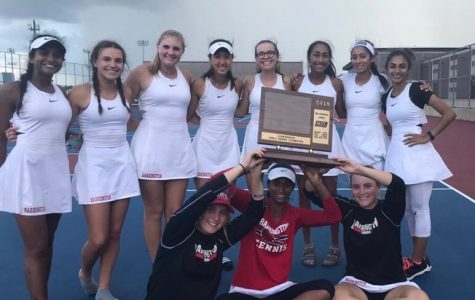 Champs! Girls' tennis wins conference