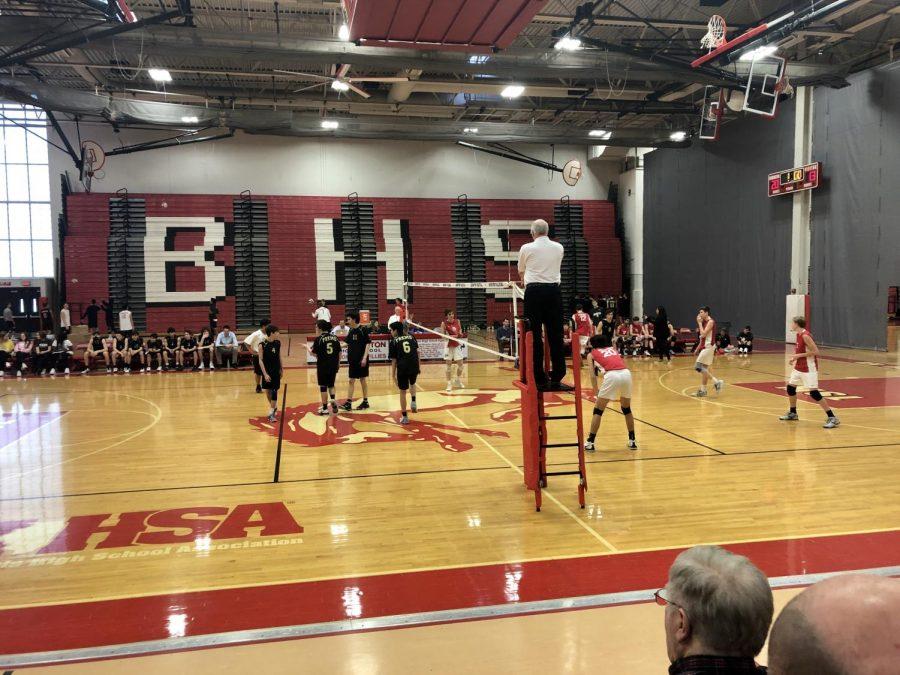 POTW: JV Boy's Volleyball