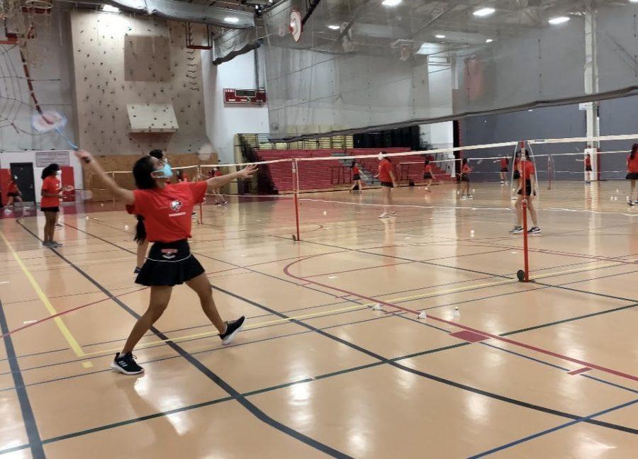 Rallies and birdies: girls' badminton starts their new season